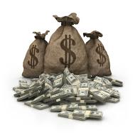 stock-photo-14273889-dollar-bag-with-dollars-heap